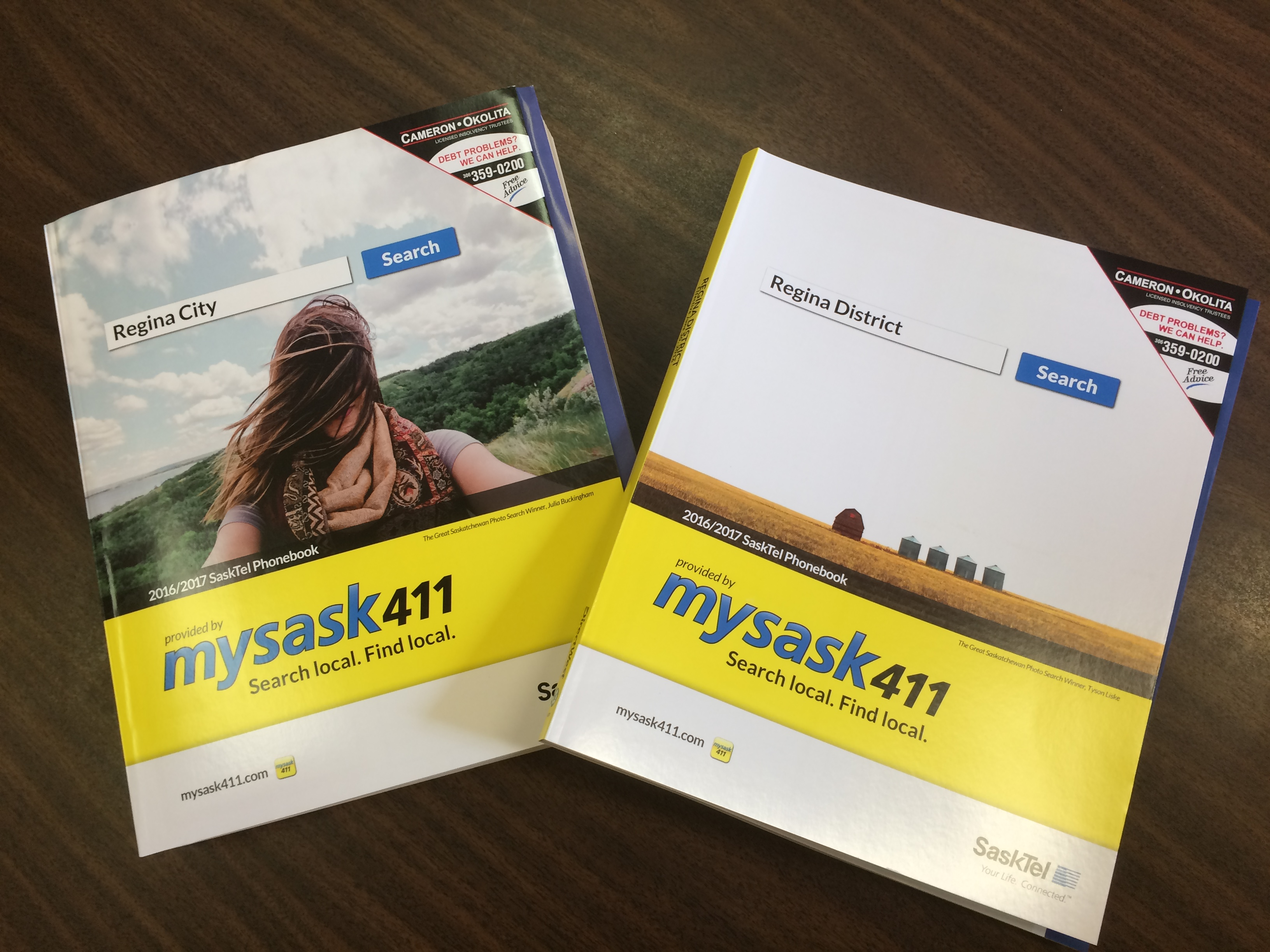 Town Of Indian Head - Regina City & District Phone Books